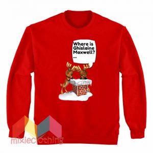 Free Ghislaine Maxwell Christmas Sweatshirt