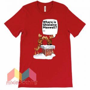 Free Ghislaine Maxwell Chrismas T-shirt