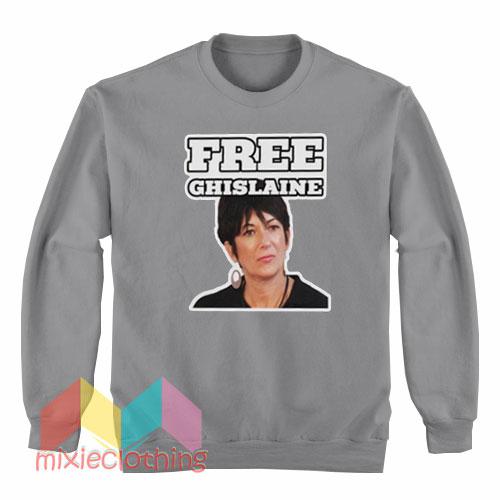 Free Ghislaine Maxwell Sweatshirt