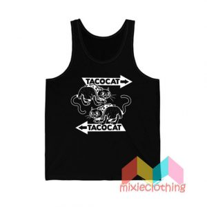 Cheap Tatocat Band Meme Tank Top