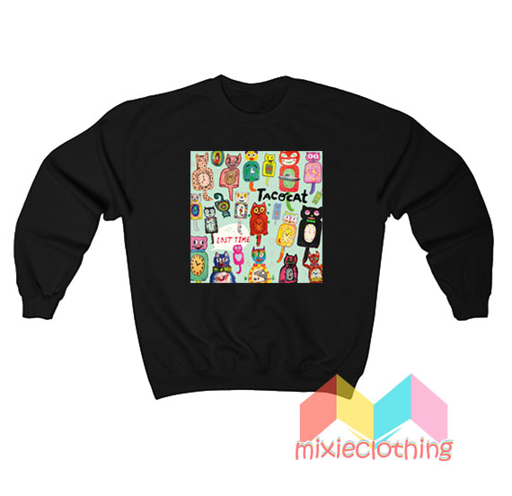 Tatocat Lost Time Studio Album Sweatshirt