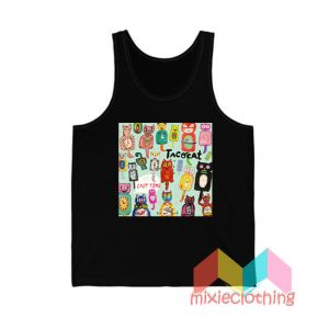 Tatocat Lost Time Studio Album Tank Top