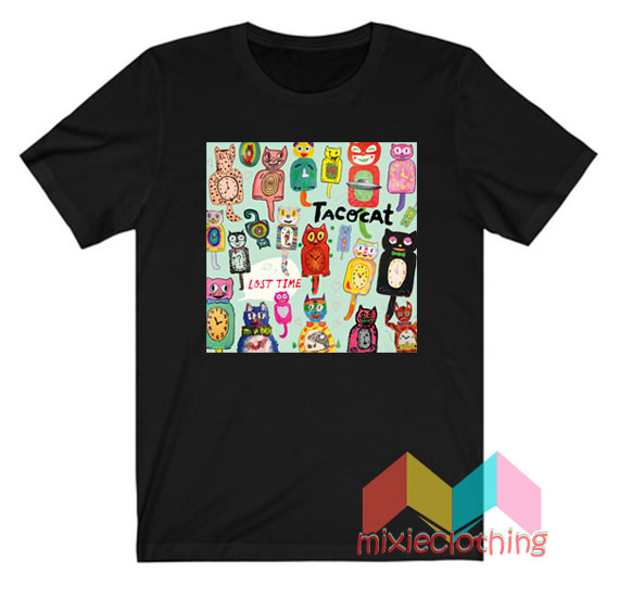Tatocat Lost Time Studio Album T-shirt