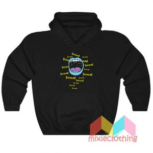 Cheap Tatocat Band Mouthy Blue Hoodie