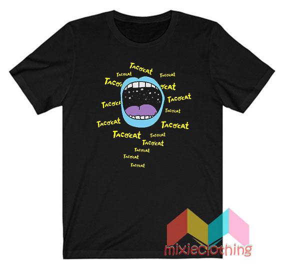 Cheap Tatocat Band Mouthy Blue T-shirt