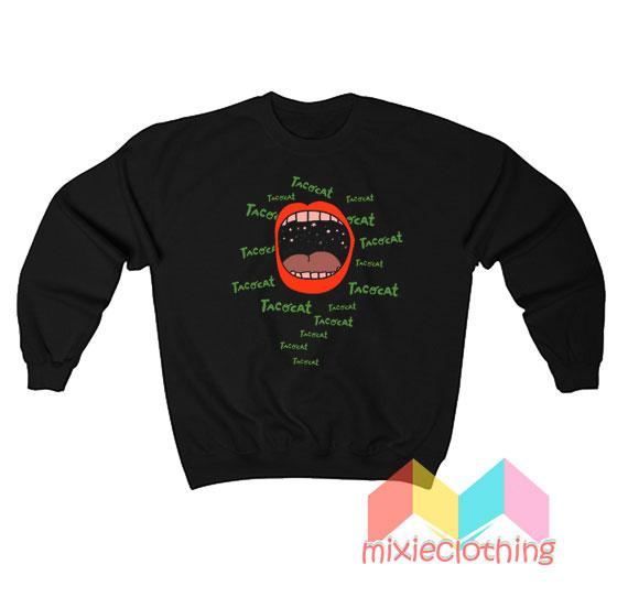 Cheap Red Lips Tatocat Band Sweatshirt