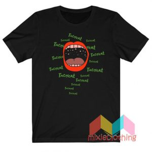 Cheap Red Lips Tatocat Band T-shirt