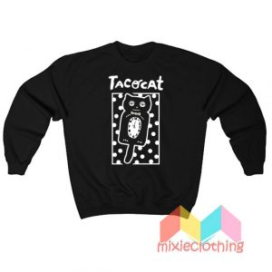Cheap Sleepy Cat Tatocat Band Sweatshirt
