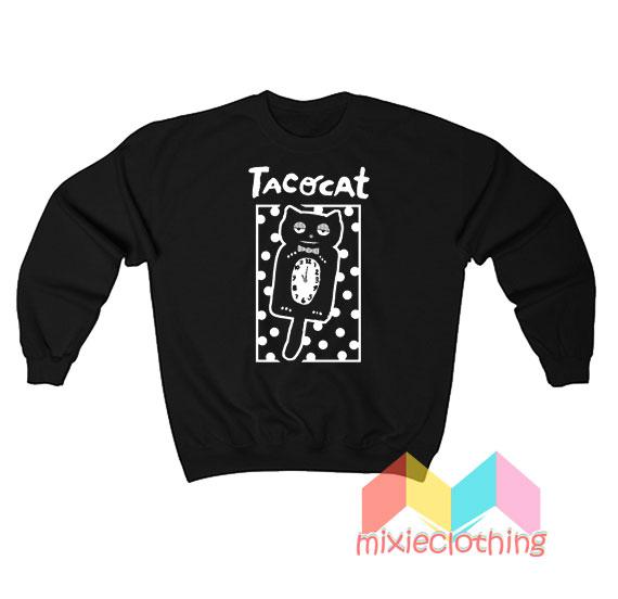 Cheap Sleepy Cat Tatocat Band Sweatshirt