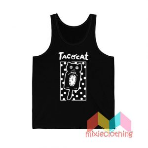 Cheap Sleepy Cat Tatocat Band Tank Top