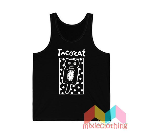 Cheap Sleepy Cat Tatocat Band Tank Top