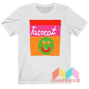 Cheap Smile Striped Tatocat Band T-shirt
