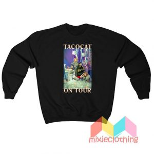 Tatocat Band The Crofood On Tour Sweatshirt