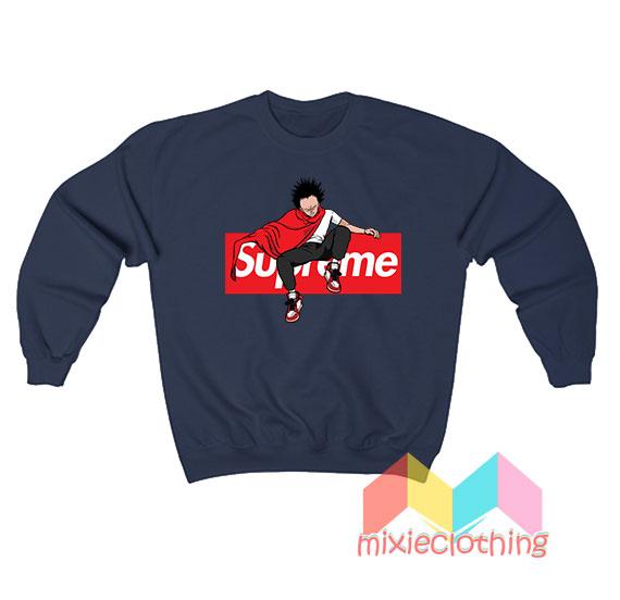 Akira Japanese Anime X Supreme Parody Sweatshirt