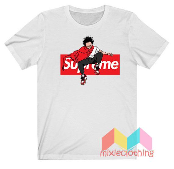 Akira Japanese Anime X Supreme Parody T-shirt