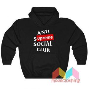 ASSC Anti Supreme Social Club Parody Hoodie