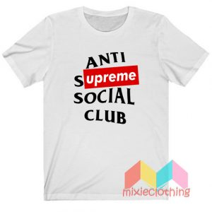 ASSC Anti Supreme Social Club Parody T-shirt