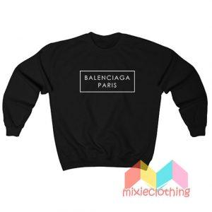 Famous Trendy Brand in Paris Sweatshirt