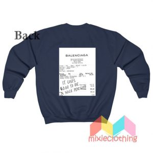 Costs to be a Nice Person Sweatshirt 300x300 - Home