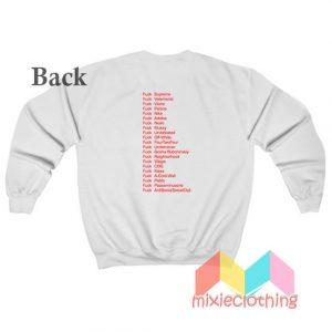 Fuck Famous Fashion Sweatshirt