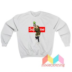 Goofy Camo X Supreme Parody Sweatshirt
