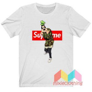 Goofy Camo X Supreme Parody T-shirt