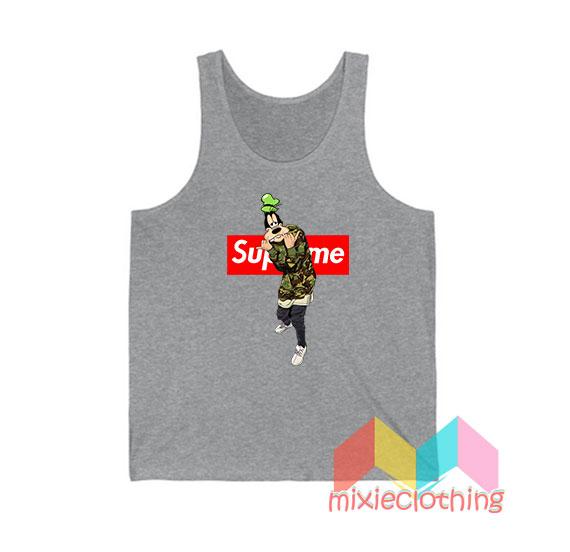 Goofy Camo X Supreme Parody Tank Top
