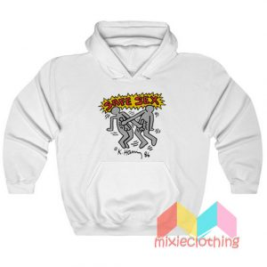 Keith Haring Safe Sex Harry Styles Hoodie