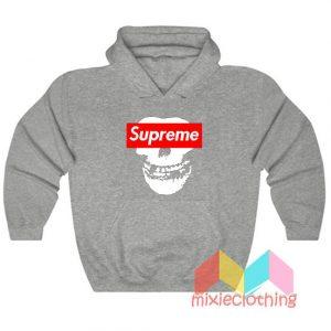 Cheap Misfit X Supreme Logo Parody Hoodie