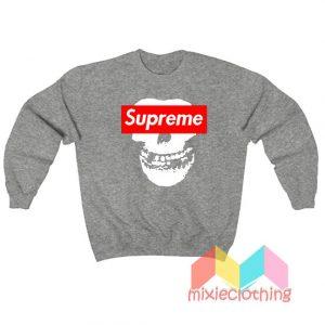 Cheap Misfit X Supreme Logo Parody Sweatshirt