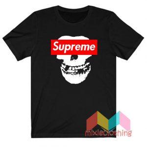 Cheap Misfit X Supreme Logo Parody T-shirt
