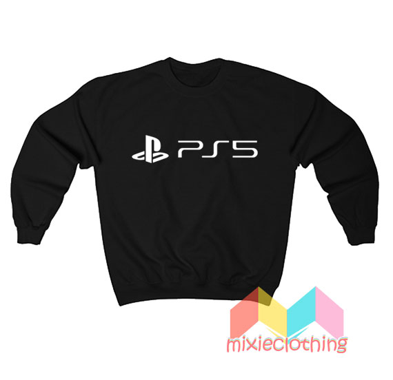 New PlayStation 5 Logo Sweatshirt