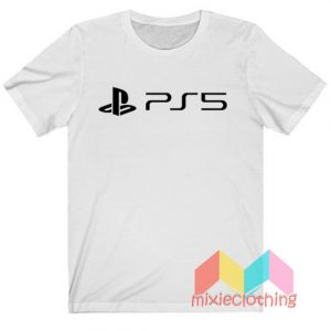 New PlayStation 5 Logo T-shirt
