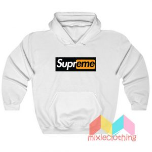 Supreme X Porn Hub Capsule Logo Hoodie