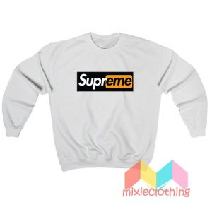 Supreme X Porn Hub Capsule Logo Sweatshirt