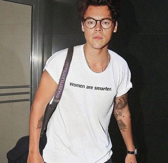 Women Are Smarter Harry Styles T-shirt
