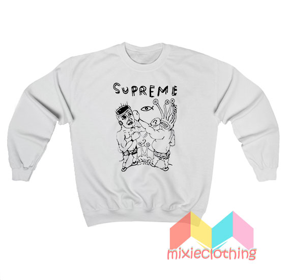Supreme RIP Daniel Johnston Sweatshirt