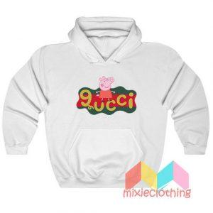 Peppa Pig X Gucci Logo Parody Hoodie
