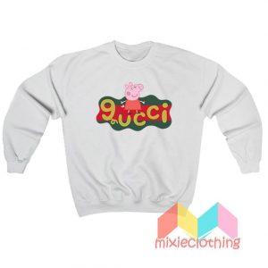 Peppa Pig X Gucci Logo Parody Sweatshirt