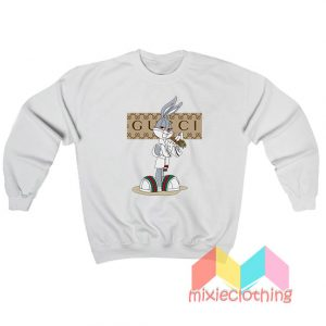 Rabbit Bugs Bunny Gucci Parody Sweatshirt