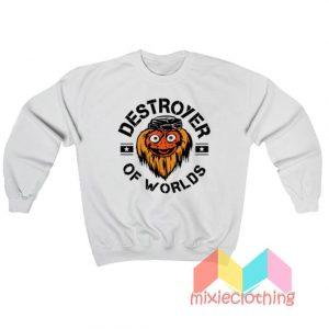 Gritty Destroyer Of Worlds Sweatshirt