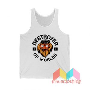 Gritty Destroyer Of Worlds Tank Top
