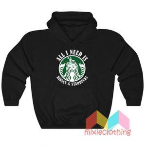 All I Need Is Disney Starbucks Hoodie