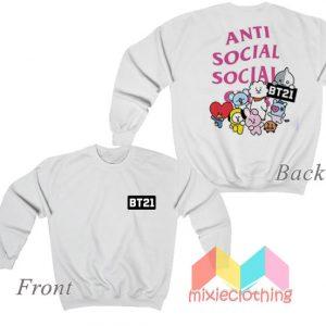BTS BT21 X ASSC Sweatshirt