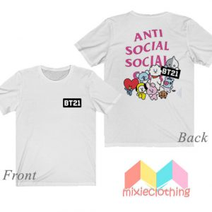 BTS BT21 X ASSC T-shirt