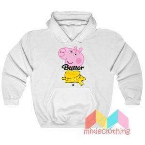 BTS Butter X Peppa Pig Hoodie