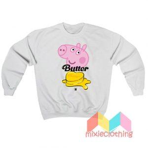 BTS Butter X Peppa Pig Sweatshirt