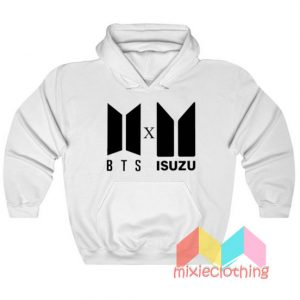 BTS Logo X Isuzu Logo Hoodie