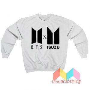 BTS Logo X Isuzu Logo Sweatshirt