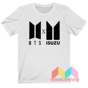 BTS Logo X Isuzu Logo T-shirt